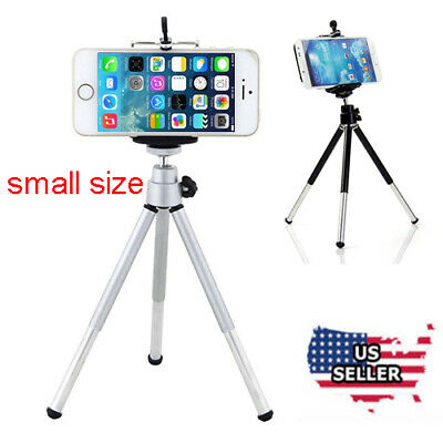 Universal 360° Mini Stand Tripod Mount + Holder For Smart Phone iPhone USA
