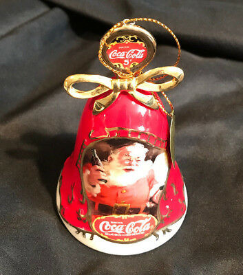 Coca Cola Ornament 2001 Bradford Exchange - Jingle Bells