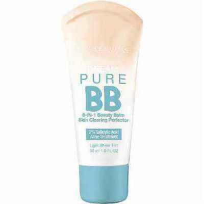 Maybelline Dream Pure BB Cream 8-in-1 Beauty Balm ~ (Please Read)