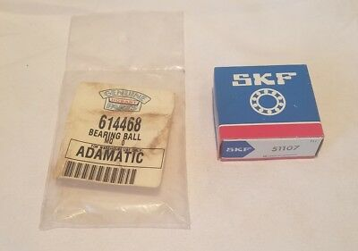 Hobart 3 Piece Bearing, Ball Thrust for Rack Lift Qty 1 NOS OEM 614468/SKF 51107