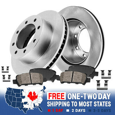 FITS 2004 CHEVROLET AVALANCE 2500 OE BLANK BRAKE ROTORS CERAMIC Replacement Parts