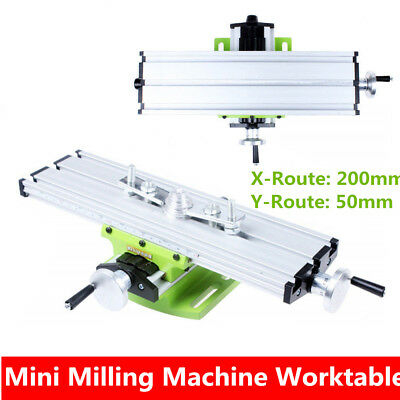 Mini Multifunction Milling Machine Worktable Vise Fixture For Bench Drill UK