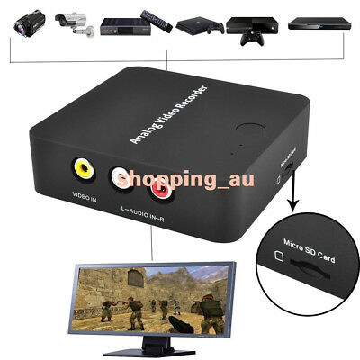 EZCAP-AV Video Capture Card Recorder VHS Hi8 DVR DVD Camcorder Analog toDigital