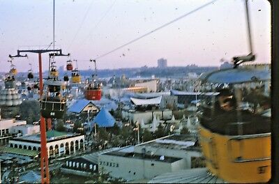 50 Vintage Photo 35mm Slide Lot New York City Worlds Fair NYC NY Trip 1964 1965