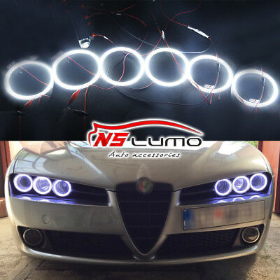 Per Alfa Romeo 159 2005-2011 Angel Eyes Anelli Fari 95mm 90mm 85mm