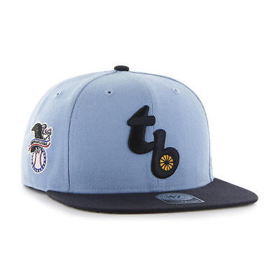 78ff7e31490 Tampa Bay Rays Columbia 2 Tone Cap 47 Brand Snapback Hat Sure Shot Captain  Wool