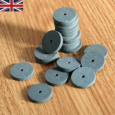 Durable 20MM Mounted Grinding Stone Wheel Disc For Dremel Grinder Rotary Tools