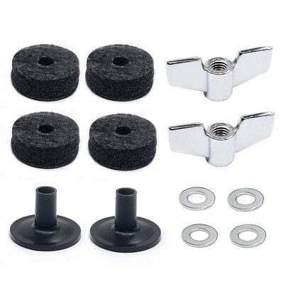Drum Accessories Kit: Cymbal Felts, Cymbal Sleeves, Wing Nuts Z2B3