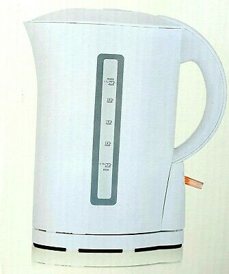 White Immersion Kettle Electric Cordless 1.7L Litre 1850-2200W 307 Cup Capacity