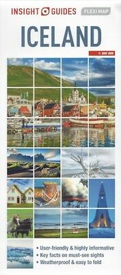 Insight Flexi Map Iceland *FREE SHIPPING - NEW*