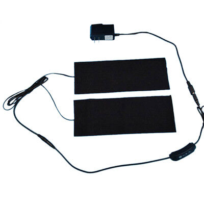 Electric USB Heating Pads Thermal Vest Heated Jacket Motorcycle Warming Gear