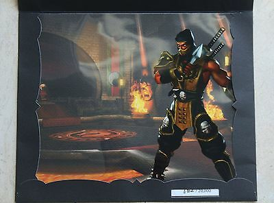 Very Rare Mortal Kombat Deadly Alliance Scorpion Limited Edition CelArt Numbered