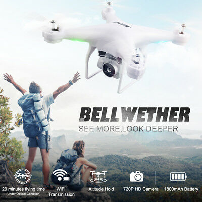 JJRC H68 RC Drone with 200W FIWI Adjustable Camera RC Quadcopter Headless Mode