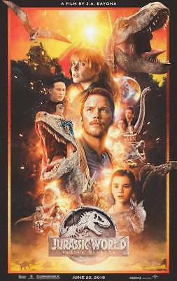 "20604 Hot Movie TV Shows - Jurassic World Fallen Kingdom 2018 13 14""x22"" Poster"