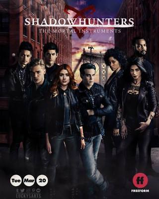 "20875 Hot Movie TV Shows - Shadowhunters Season 1 2 3 6 14""x17"" Poster"