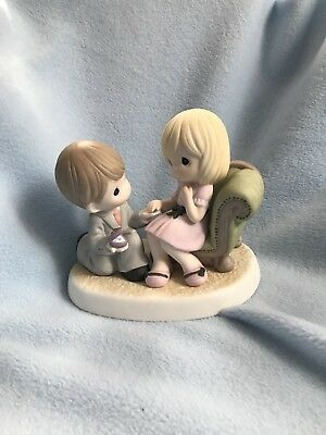 Will You Share Your Heart With Me Precious Moments Figurine Engagement 930004