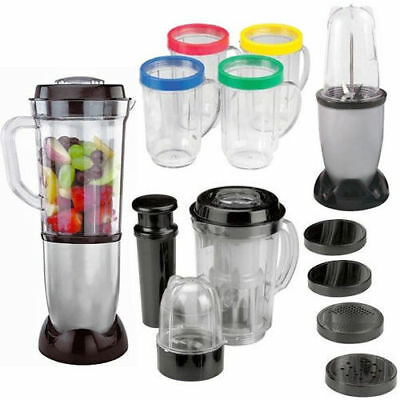 17Pc Multi Blender Chopper Food Processor Juicer Smoothie Maker Kitchen Mixer