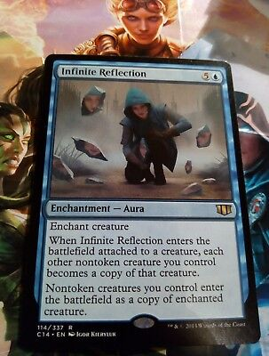 INFINITE REFLECTION 114/337 RARE Mtg Magic the Gathering COMMANDER 2014 C14