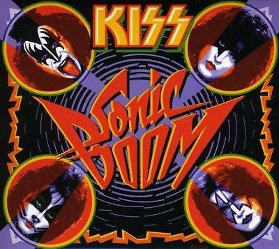 KISS - SONIC BOOM 2CD & DVD Ltd Edition Inc Live DVD (New & Sealed) Rock