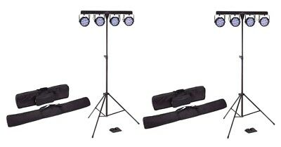 Soundsation 2 x 4LEDKIT-PARTY - 2 x Kit Luci Discoteca