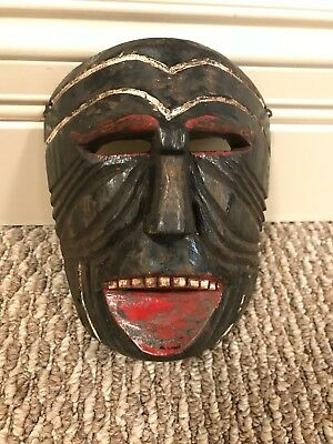 Wood Dance Carnival Mask