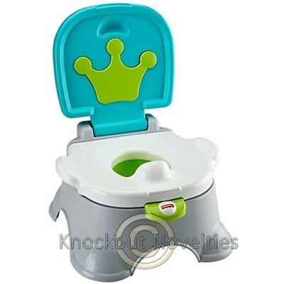 Fisher Price: Royal Potty - Blue And White Fun Baby Learn Play Toy