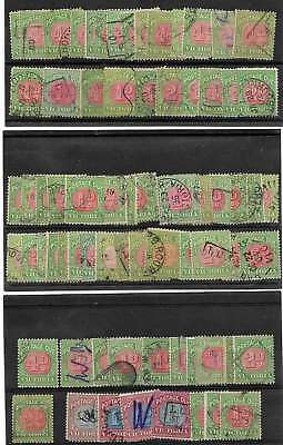 VICTORIA: EARLY GROUP USED POSTAGE DUES STAMPS unchecked at all & NO RESERVE