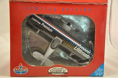 Gearbox Limited Edition Amoco Ultimate Waco Ubf Biplane Diecast Airplane Bank