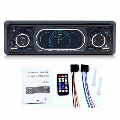 1-Din Bluetooth Stereo Car In-Dash MP3 Player Radio Support USB / TF / AUX Y7L3
