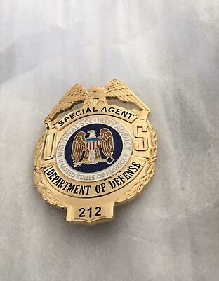 Abzeichen Police Badge USA+Marke+SpecialAgent+Department of Defense