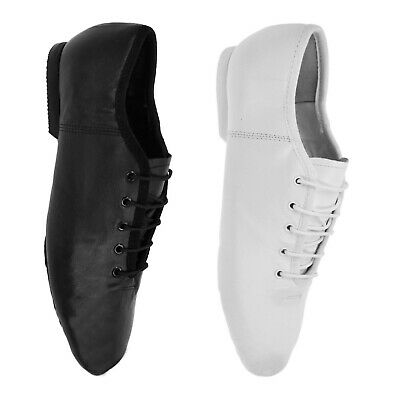 Starlite Basic Leather Split Sole Jazz Shoes - Rubber Sole