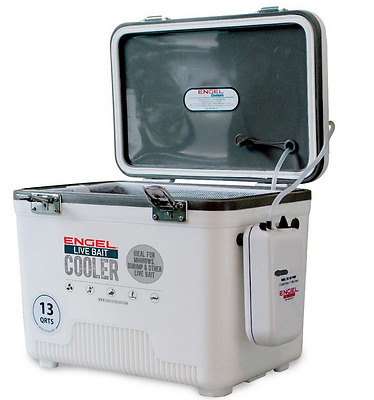 New Style Engel Live Bait Cooler 13Qt Quart (Aerated Minnow Bucket)