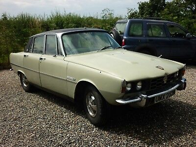 Rover 3500s P6, SALOON