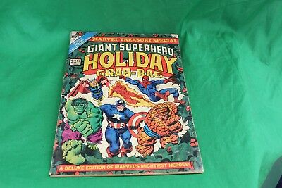 Treasury Edition Marvel Giant Superhero Holiday Grab-Bag 1974