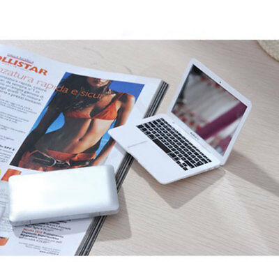 Mini Foldable Notebook Mirror Cosmetic Mirror Office Home Outdoor Travel