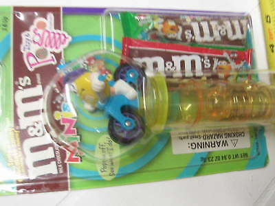 M&M toy biker POGO Mini Candy Dispenser new collectable gift cycle bicycle bike