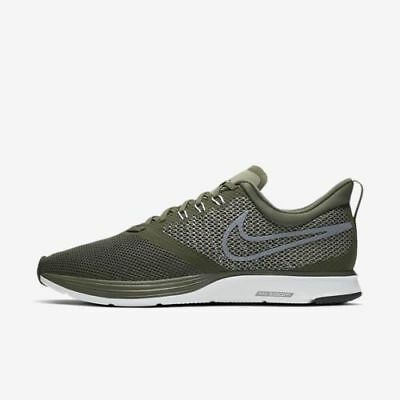 0a071e7221d Nike Zoom Strike Men s Running Shoes AJ0189 300 Cargo Khaki Green Grey White