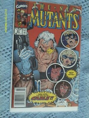 The New Mutants #87 1st print NM Auto Liefeld winbid Lithograph Larroca or Jusko