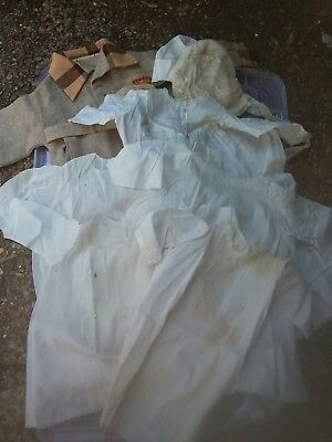 Antique vintage baby clothes lot