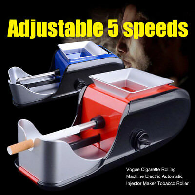 3W Vogue Cigarette Rolling Machine Electric Automatic Maker Tobacco Roller AA