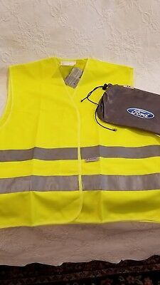 ReflectiveNeon Yellow Safetly VestFrom Ford Motor Company