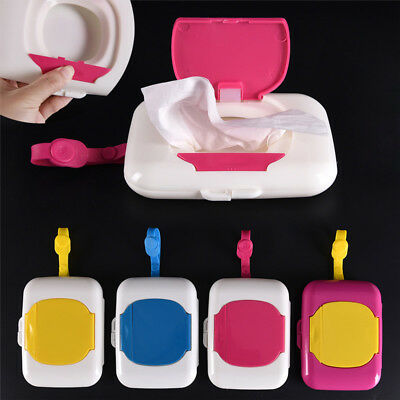 Baby Wipe Travel Case Child Wet Wipes Box Changing Dispenser Storage Holder SR