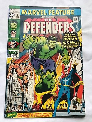 Marvel Feature #1 Vol 1 1st Appearance of the Defenders - selling big collection