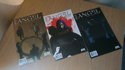 """Angel (Buffy) : """"not Fade Away"""" : Complete 1-3 Series. Idw. 2009"""