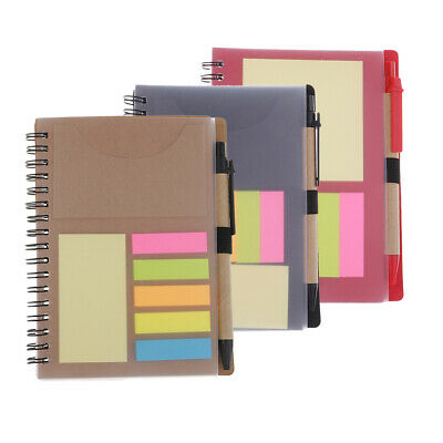 Sticky Memo Note Desktop Organiser Set Notepad index Notebook Post Pads