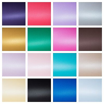 Professional Quality A4 Centura Pearlescent Shimmer Card 310gsm Pearl