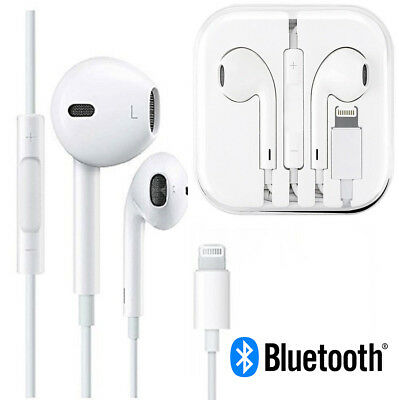 Wired Bluetooth Earphones Headphone Headset For Apple Earpods iPhone X 8 7 Plus