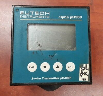 Eutech Instruments Alpha pH500 2-wire Transmitter pH/ORP 420446