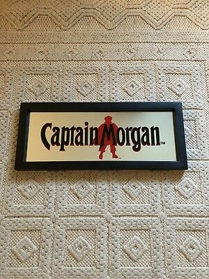 Captain Morgan Mirror Sign