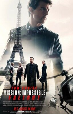 Mission Impossible 6 - Fallout ~ Filmposter A1 - Tom Cruise
